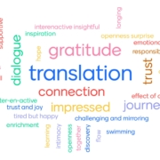 ESRI 2020: what word best captures your experience? (image: Mind & Life Europe)